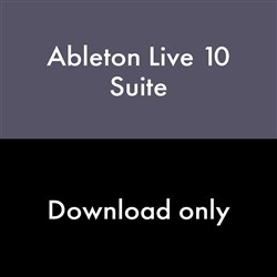 Ableton Live 10 Suite Music Production Software - EDU (Download Code)