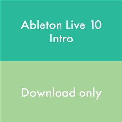 Ableton Live 10 Intro Music Production Software (eLicense Download Code Only)