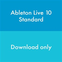 Ableton Live 10 Standard Upgrade from Live Standard 1-9 (eLicense Download Code Only)