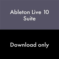 Ableton Live 10 Suite Upgrade from Live Lite (eLicense Download Code Only)