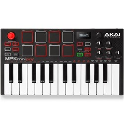 Akai MPK Mini Play Compact Keyboard & Pad Controller w/ Built-In Synth & Speaker