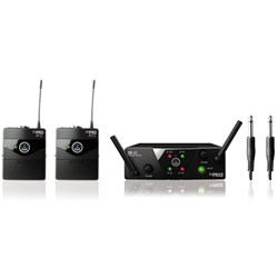AKG WMS 40 Mini2 Dual Wireless Bodypack System Band US45A/C