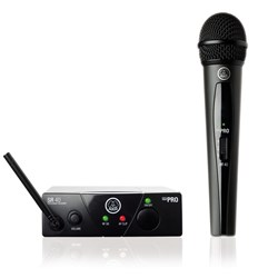 AKG WMS40 Handheld Wireless Mic System Band US45A (660.700MHz)