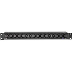 ART Pro Audio P16 16-Point Balanced XLR Patch Bay