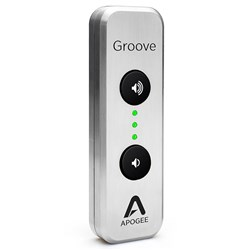 Apogee Groove Portable USB DAC & Headphone Amp for Mac & PC (Ltd Edition Silver)