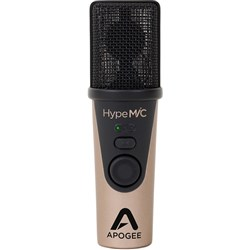 Apogee HypeMiC USB Microphone w/ Headphone Output & Studio Quality Compression