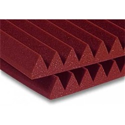 "Auralex 2"" Studiofoam Wedge 12x 2ft x 2ft Panels (Burgundy)"