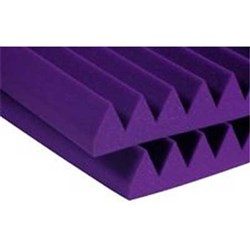 "Auralex 2"" Studiofoam Wedge 12x 2ft x 2ft Panels (Purple)"