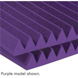"Auralex 2"" Studiofoam Wedge 12x 2ft x 4ft Panels (Purple)"