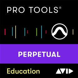 Avid Pro Tools Perpetual Licence - NEW - EDU (Electronic Delivery)