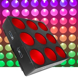 Chauvet Core 3 x 3 LED Wash Effect (9 x 9W TRI)