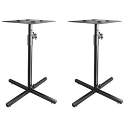 "ICON SB-200 Monitor Stands for 6"" Speakers & Up (Pair)"