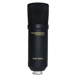 Marantz Professional MPM1000U USB Condenser Microphone for DAW Recording or Podcasting