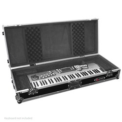 Odyssey FZKB61W 61-Note Wheeled Keyboard Case (PSR, Nord 61-key models, DS61 etc)