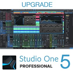 PreSonus Studio One Pro 1-4 to Pro 5 Upgrade (eLicence Only)