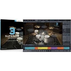 Toontrack Superior Drummer 3 Drum Production Studio (Boxed Copy - License Only)