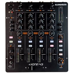 Allen & Heath Xone:43 Analogue 4 Channel DJ Mixer